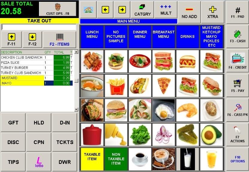 Pos restaurant g ui ux reservation system